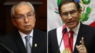 """Vizcarra expresa su rechazo por nuevo """"blindaje"""" a Pedro Chávarry en el Congreso"""