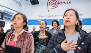Extranjeros adoptan nacionalidad peruana por Fiestas Patrias
