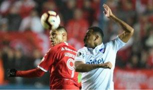Copa Libertadores: Guerrero le dio triunfo a Inter con agónico gol ante Nacional