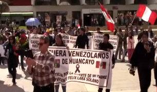Huancayo: venezolanos se quedan sin trabajo tras violenta protesta por crimen de anciano