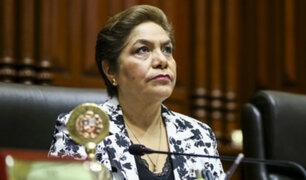 Luz Salgado negó que exista blindaje en caso Chávarry