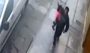 Breña: detienen a secuestrador que huía con niña de tres años