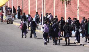 Tía María: suspenden clases escolares por paro en respaldo al valle de Tambo