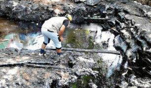 Verifican posibles causas del derrame de petróleo en la Amazonía
