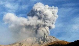 Volcán Ubinas: 102 sismos se registraron durante la noche del miércoles