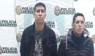 """Cercado de Lima: fueron capturados """"los makineros de ventanilla"""" tras intensa persecución policial"""