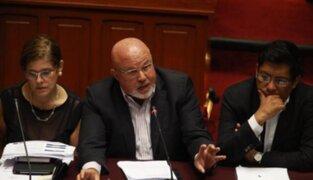 Congresistas presentan reconsideración para volver a votar proyecto sobre inmunidad