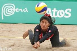 Lima 2019: Perú perdió 0-2 con Paraguay en vóley playa femenino