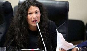 Yesenia Ponce solicitó formalmente integrar la bancada Cambio 21