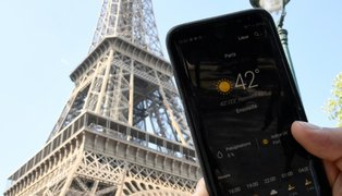 Francia: París rompió récord histórico de temperatura