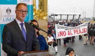 Lamsac: Jorge Muñoz indicó que seguirán negociaciones porque existen obras pendientes