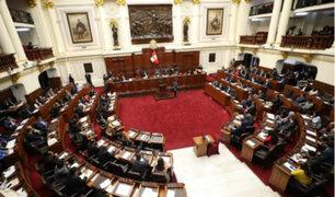 Congresistas plantean salidas sobre pedido de adelanto electoral