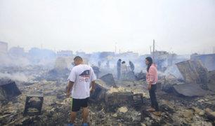 Callao: incendio dejó 500 personas damnificadas