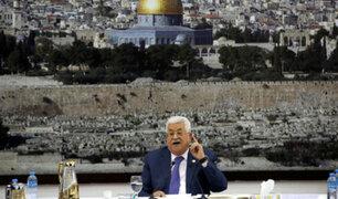 Presidente palestino suspende los acuerdos con Israel