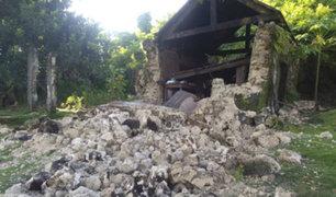 Filipinas: sismos dejan ocho fallecidos y alrededor de 60 heridos