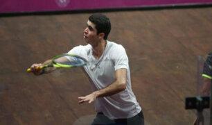 Lima 2019: Diego Elías ganó la medalla oro en la final de squash