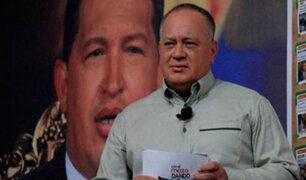 """Diosdado Cabello afirma que Venezuela está lista para una """"guerra absoluta"""" con EEUU"""