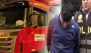 Puente Piedra: detienen integrantes de banda que secuestró chofer y asaltó camión