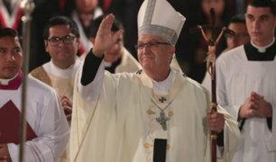 Arzobispo de Lima: Es necesario que los líderes antepongan al Perú frente a sus intereses