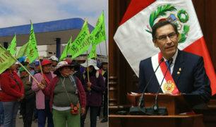 Presidente Vizcarra presentará proyecto para una Nueva Ley de Minería