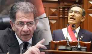 Óscar Urviola: No está faltando a la Constitución con proyecto para adelantar elecciones