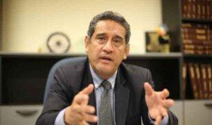 Mesías Guevara critica pronunciamiento de Merino: AP nunca lo reconoció como presidente