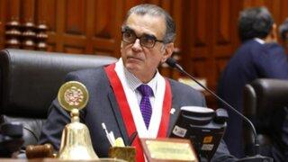 Adelanto de Elecciones: Pedro Olaechea insta a Martín Vizcarra a retirar proyecto
