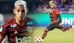 Miguel Trauco fue titular en el triunfo del Flamengo ante Botafogo