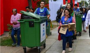 Minam promoverá adecuado deshecho de residuos en desfile militar