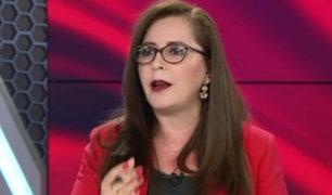 Rosa Bartra: la opinión de la Comisión de Venecia es respetable, como cualquier otra