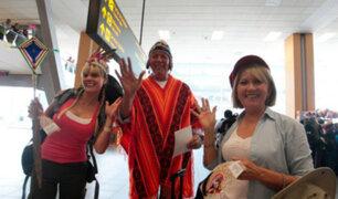Fiestas Patrias: sorprenden a viajeros con música y danzas en Aeropuerto Jorge Chávez