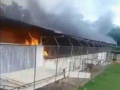 Impactantes imágenes: al menos 52 muertos deja motín en cárcel de Brasil