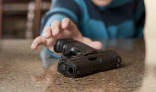 Niño pierde la vida tras dispararse accidentalmente en el rostro
