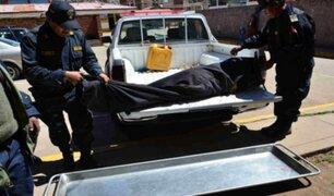 Puno: grupo de delincuentes acribillan a conductor para quitarle 30 mil soles