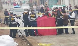 Presuntos sicarios asesinan a un padre de familia en Villa El Salvador