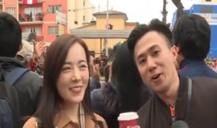 Extranjeros disfrutaron de la Gran Parada Militar por Fiestas Patrias