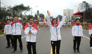 """Gladys Tejeda en desfile militar: """"estoy emocionada, encantada de estar con todo el Perú"""""""