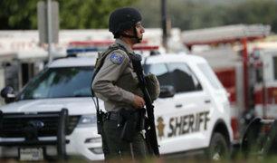EEUU: policías identifican y abaten al autor de tiroteo en California