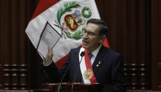 Congresistas solicitarían acta y grabación de sesión donde se aprobó discurso de Vizcarra