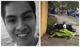 """SJL: motociclista muere tras chocar contra pared en la """"Curva del Diablo"""""""