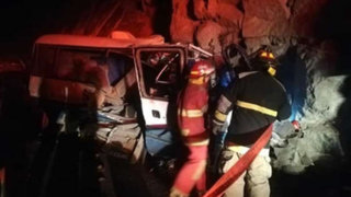 Fiscalía revela lista de 19 fallecidos que dejó trágico accidente en Canta