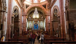 San Miguel: delincuentes roban una cartera al interior de una Iglesia