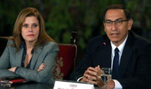 """Mercedes Aráoz sobre Vizcarra: """"Su renuncia me obligaría a asumir el cargo"""""""