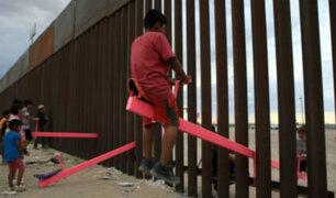 EEUU: colocan tres sube y baja en la frontera con México