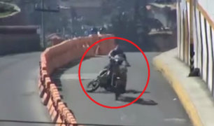México: dos motociclistas resultaron heridos tras choque