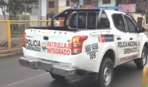 Vehículos del municipio de El Agustino circulan sin placa y sin Soat