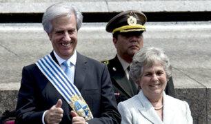 María Auxiliadora Delgado, esposa del presidente de Uruguay, murió a los 82 años