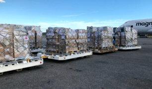 Venezuela: nuevo lote de ayuda humanitaria llega proveniente de Italia