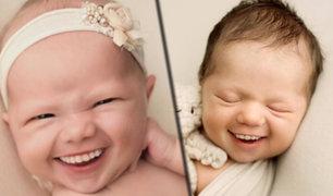 EEUU: fotógrafa añade dientes a fotos de bebés y genera polémica
