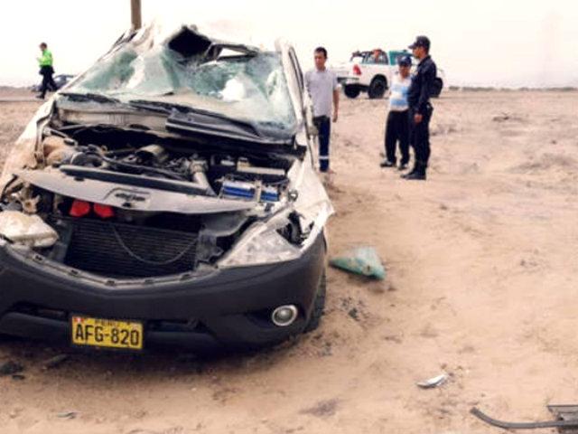 Alcalde de Chepén muere en aparatoso accidente de tránsito en Pasamayo